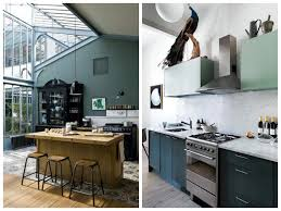 cuisine vert d eau meuble de cuisine vert d eau maison et meuble de maison