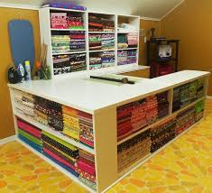 cutting table with storage love this sewing quilting craft