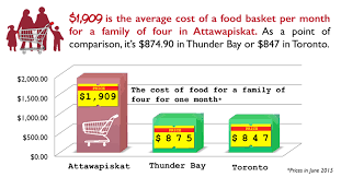average cost of food average monthly food cost for 4 food