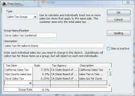 setting up sales tax in quickbooks accountex report