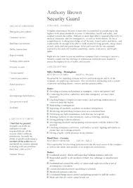 security officer resume security officer resume duties skywaitress co