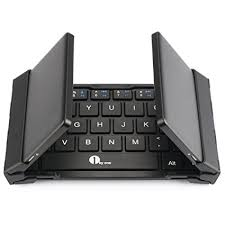 bluetooth keyboard android 1byone foldable bluetooth keyboard portable bluetooth