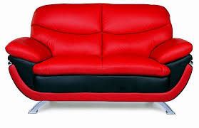 Modern Loveseat Modern Jonus Leather Loveseat With Two Color Options 829 00