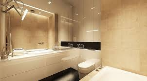 Modern Bathroom Colour Schemes - bathroom creative ideas modern fresh decor with white laminate