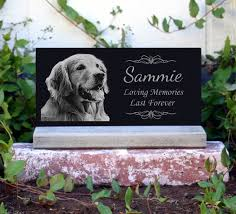 headstones for dogs 50 pet memorial pet grave marker with base stand