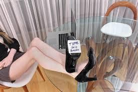 on break sign for desk break time stock image image of heels modern break 64218271
