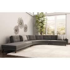 Curved Contemporary Sofa by Large Modern Sectional Sofas Video And Photos Madlonsbigbear Com