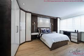 bedroom elegant bed room interior plan decoration with cupboards