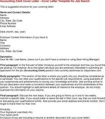 account clerk cover letter professional accounting clerk cover