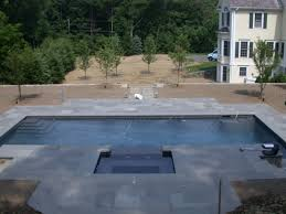 what is a beach entry swimming pool backyard living