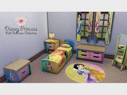 mod the sims disney princess kids bedroom collection