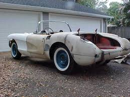 corvette project cars 1957 chevy corvette project car for sale in mobile alabama