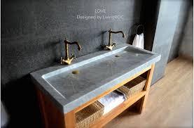 bathroom trough sink double marble trough carrara white bathroom sink love