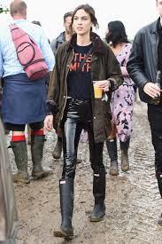 celebrities wearing hunter boots instyle com