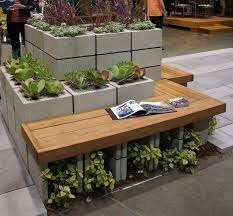 79 best garden planters planter boxes cinder blocks benches
