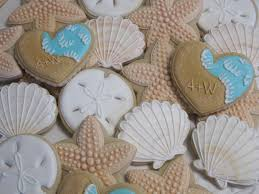 seashell shaped cookies the iced sugar cookie the mermaid birthday party