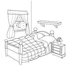 dessin chambre chambre 1 bâtiments et architecture coloriages à imprimer