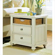 white end table with storage american drew camden antique white wood storage end table decorate