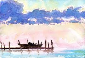 photos easy landscape watercolor paintings gallery drawing art
