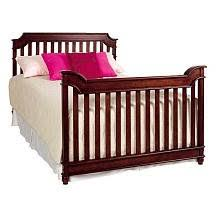 Lajobi Convertible Crib Lajobi Newcastle Convertible Crib Rustic Cherry Baby