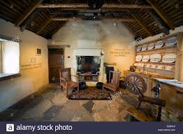 interior of burns cottage the first home of robert burns