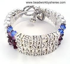 mothers bracelet beaded bracelets 4 strand bracelet