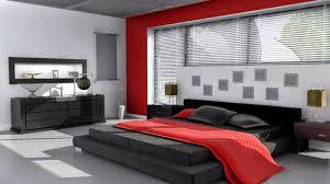 cuisine noir et rouge moderne rouge