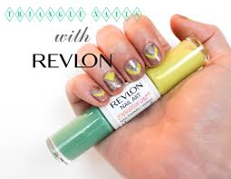 aztec triangle nails with revlon nail art expressionist the