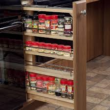 Under Kitchen Sink Pull Out Storage by Pull Out Spice Cupboard Accessible Microwave Spice Rack Roll Out