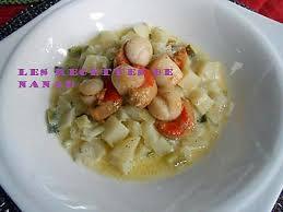 cuisiner poireaux poele recette de pétoncles poêlées sur pommes de terre et poireaux à la