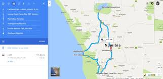 National Parks Road Trip Map The Ultimate 10 Day Namibian Road Trip Itinerary