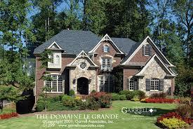 style house plans domaine le grande house plan house plans by garrell associates inc