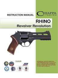 chiappa rhino revolver user manual trigger firearms revolver