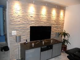 steinwand wohnzimmer mietwohnung haus renovierung mit modernem innenarchitektur kleines steinwand