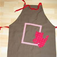comment faire un tablier de cuisine tablier réversible en tissu patron couture gratuit
