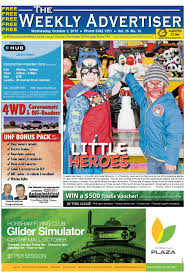 the weekly advertiser wednesday october 2 2013 edition by the