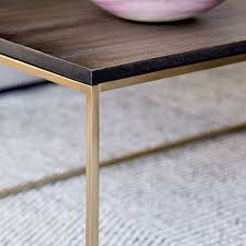 streamline coffee table west elm streamline coffee table west elm