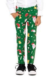 Kids Green Ugly Christmas Suit  The Christmas Don Juan
