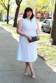 summer style plus size white eyelet midi dress from jessica london