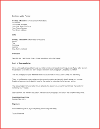 Example Of Business Memorandum Letter business formal letter images examples writing letter