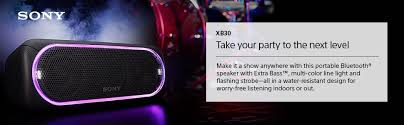 Party Speakers With Lights Amazon Com Sony Xb30 Portable Wireless Speaker With Bluetooth