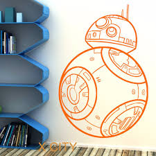 aliexpress com buy star wars bb 8 droid the force awakens vinyl aliexpress com buy star wars bb 8 droid the force awakens vinyl wall art room sticker decal door window stencils mural decor s m l from reliable vinyl