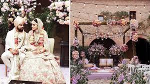 wedding decor virushka wedding décor here s how to get virat anushka s wedding