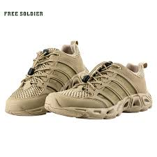 free soldier outdoor sports shoes for tactical hiking shoes