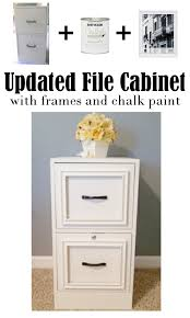 diy home sweet home updated file cabinet