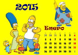 imagenes en hd para imprimir los simpson calendario 2015 imágenes taringa