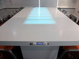 Interactive Meeting Table Timetable A Special Table For Better Meeting Session By Wieldon