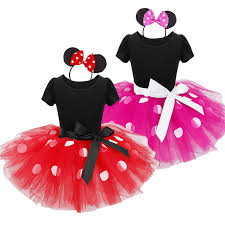2017 summer kids dress minnie mouse princess party costume