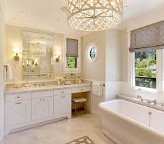 bathroom breathtaking bathroom chandeliers with mirror also