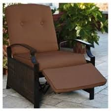Wicker Reclining Patio Chair Patio Recliners Foter